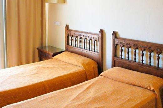 Hotel Encant slaapkamer