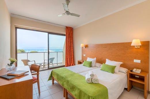 Hotel Amazonas slaapkamer