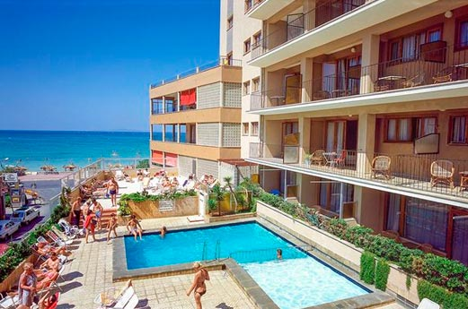 Hotel Encant voorkant