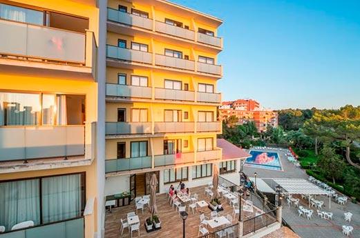 Hotel Amazonas voorkant